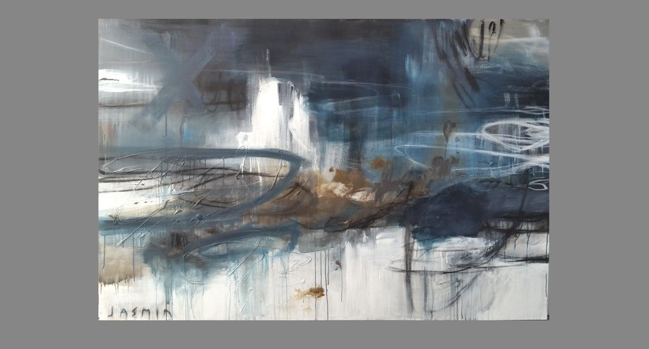 Into the Blue 120 x 180cm