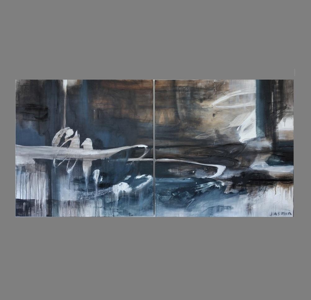 'Desert Sands 1'. 100 x 10cm0 x 2