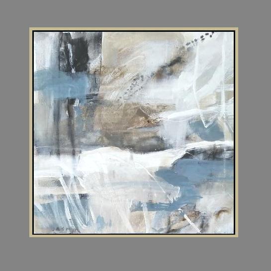 'Desert Sand 1. Print Series'. 90 x 90cm