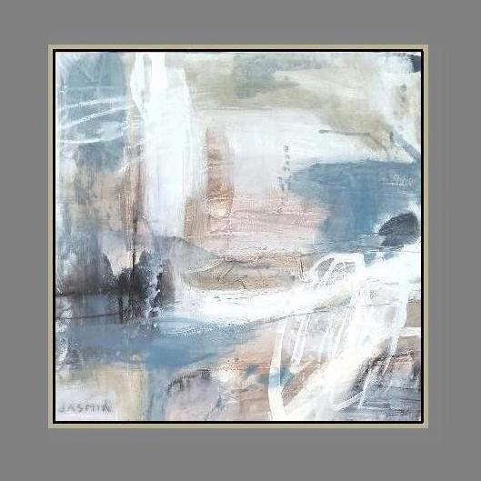 'Desert Sand 2. Print Series'. 90 x 90cm