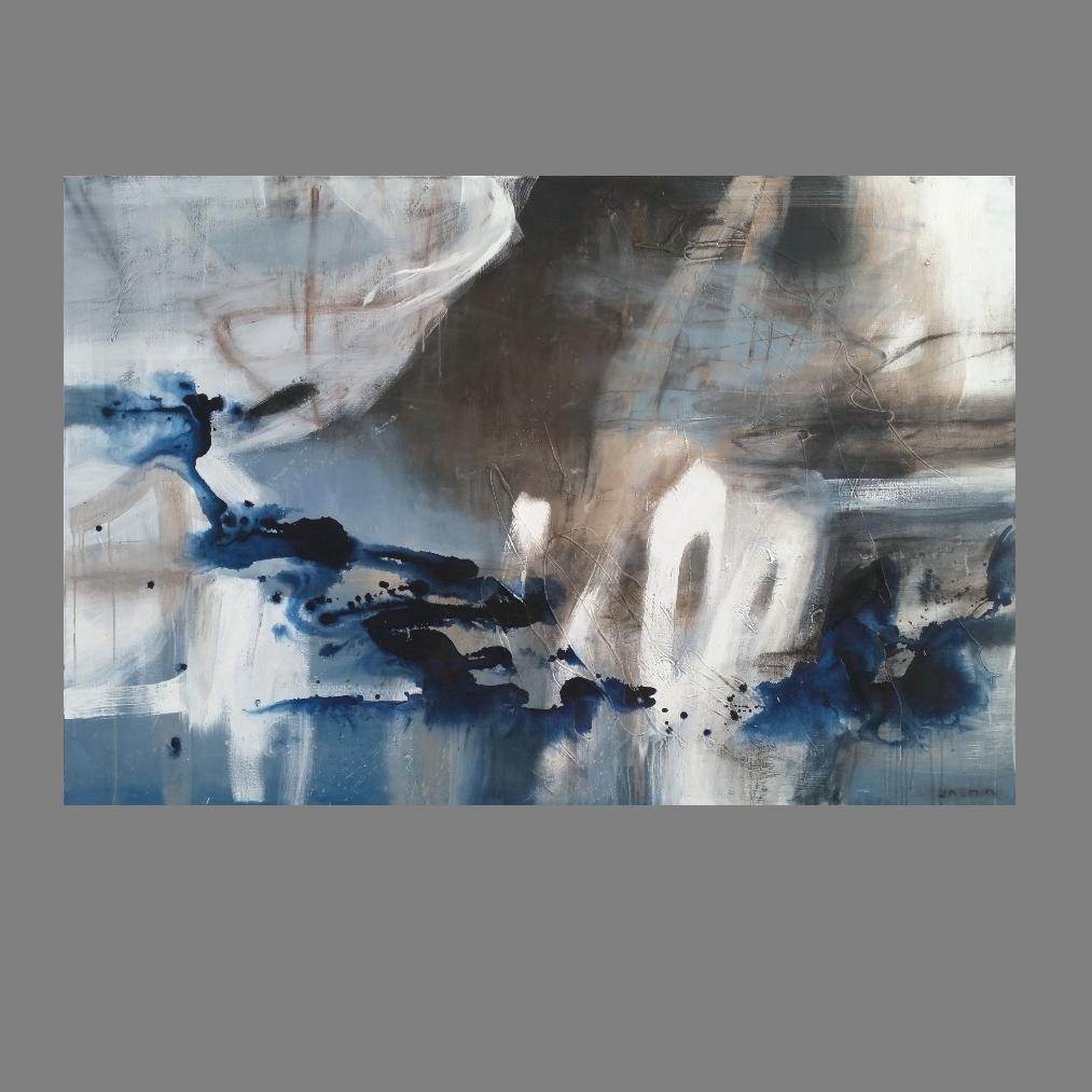 'Immersed 1.' 120 x 180cm