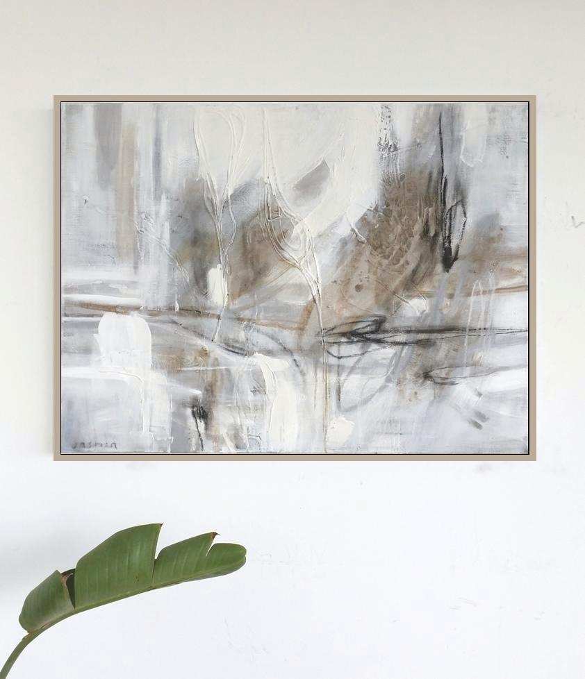'Sandstone 1. Print Series'. 60 x 90cm insitu,,