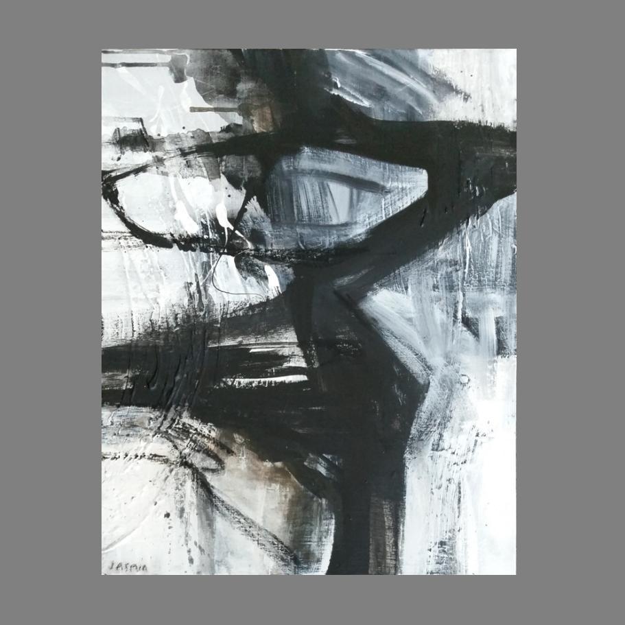 'Raw Edge 1. 100 x 90cm