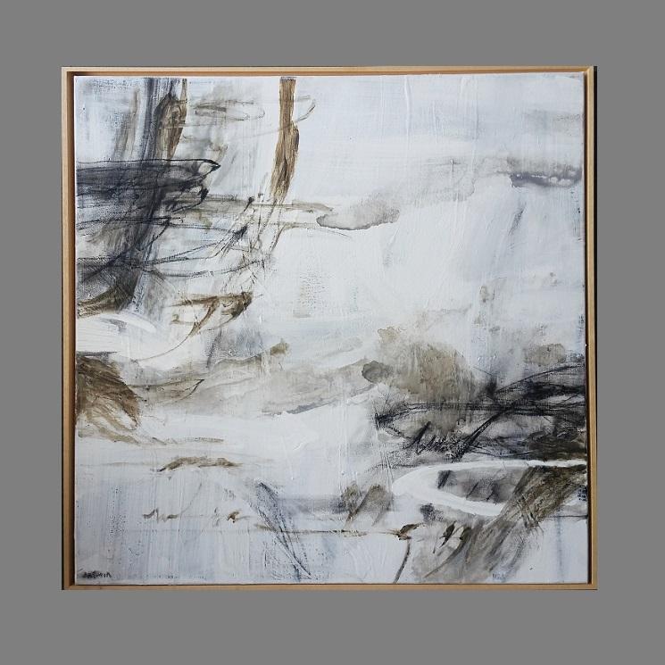 rust-on-white-2-75-x-75cm-framed