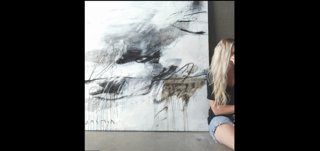 Jasmin with Black Lines 3 –