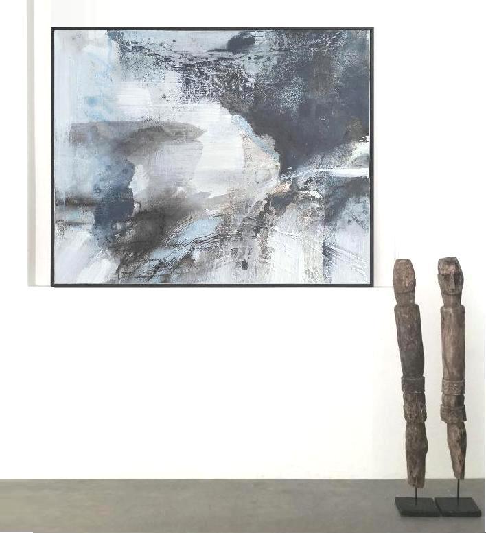 'Behind the Clouds 1.. Print ..Series'. Insitu