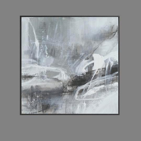 'Faded 1. Print Series'. black.. frame