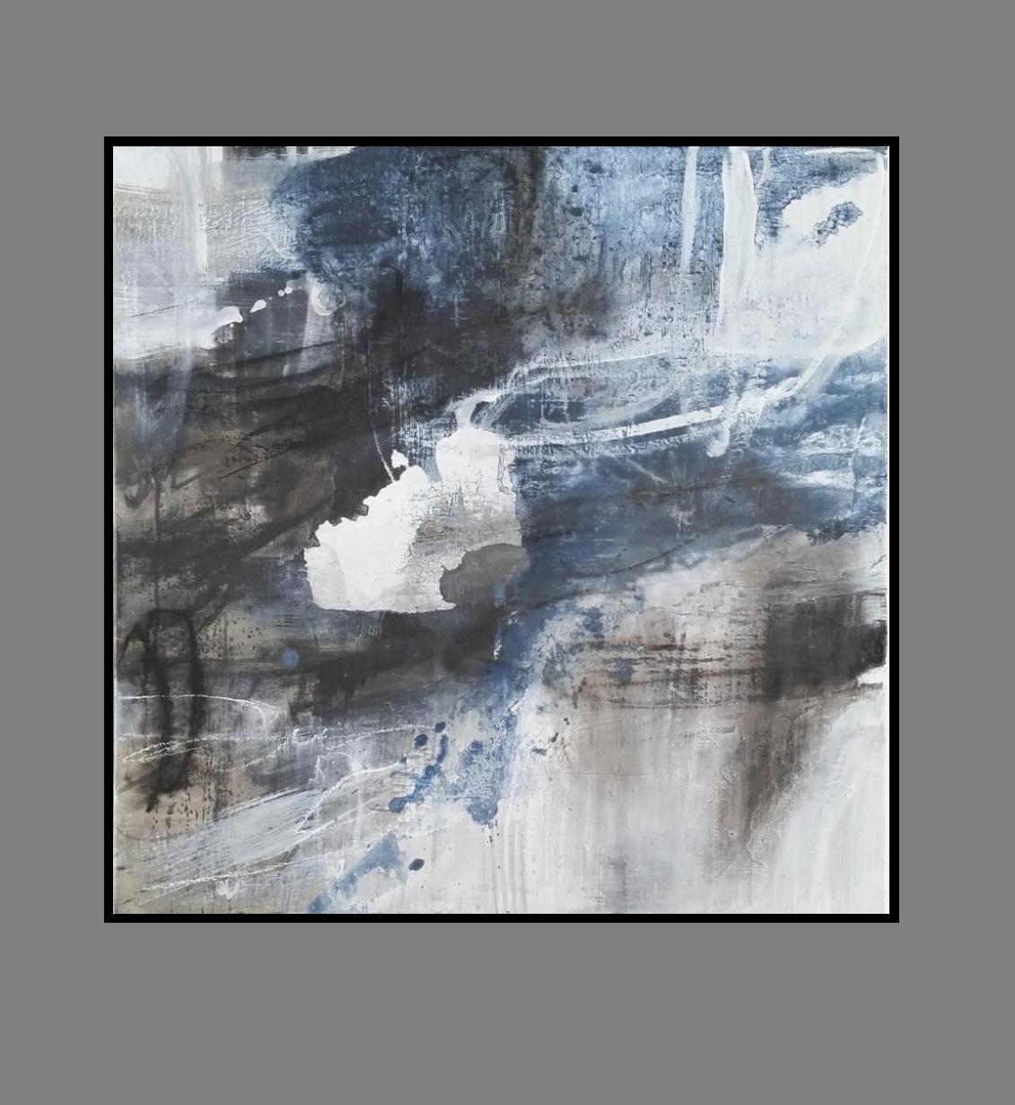 'Night Sky 1. Print Series'.black frame..