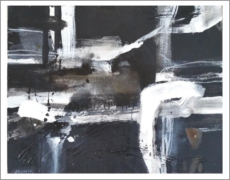 'White Lines 1. Print Series..'