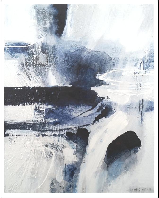 'Dark Indigo 1. Print Series'.