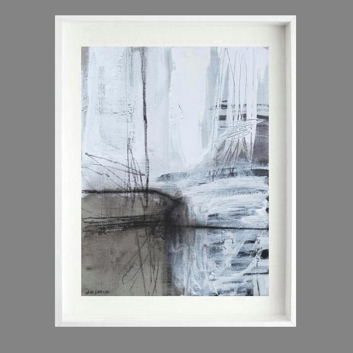 'Fine Line 1. Print Series'. 80x 70cm