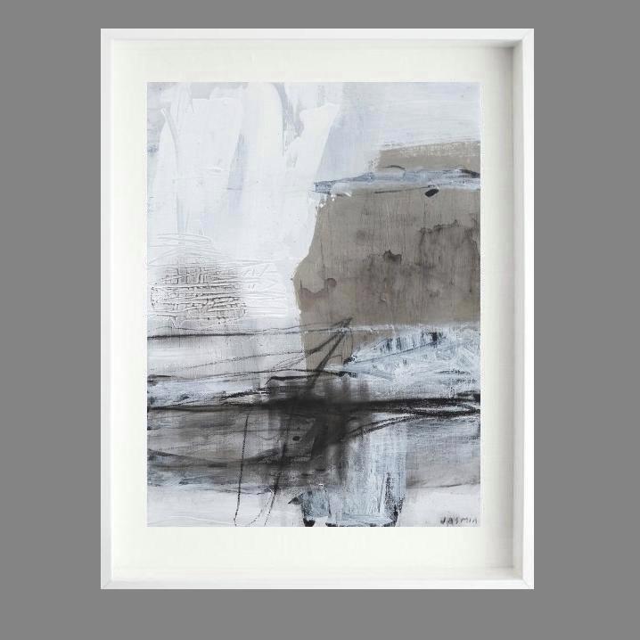 'Fine Line 2.  Print Series'. 80 x 70cm..
