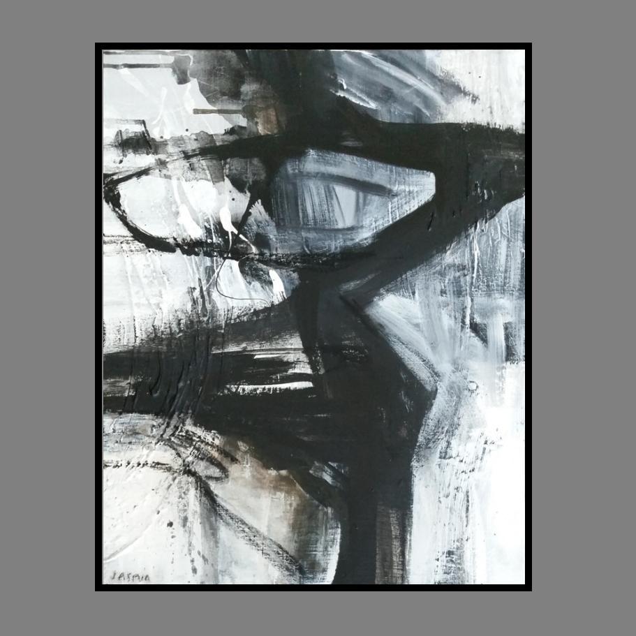 'Raw Edge 1. Print Series' 90x 80cm