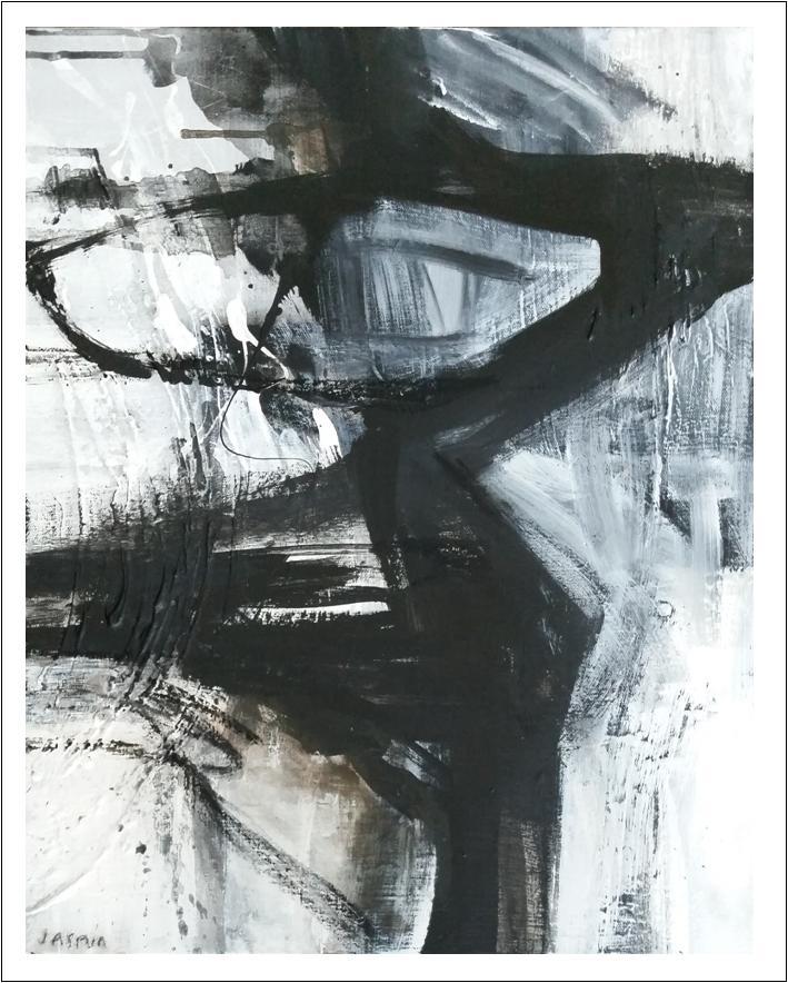 'Raw Edge 1. Print Series'. 90 x 80cm