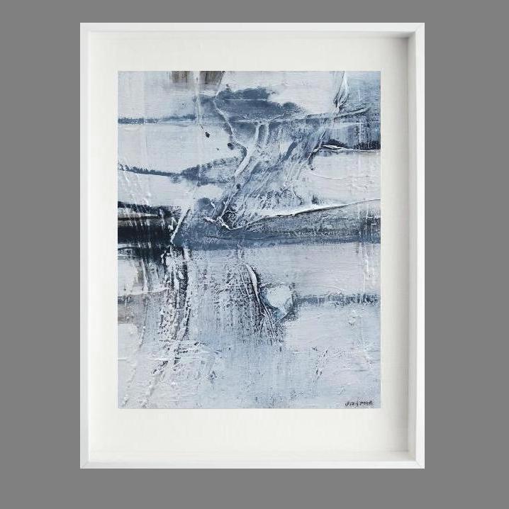 'Rock Pool 1.. Print Series'. 80 x 70cm--