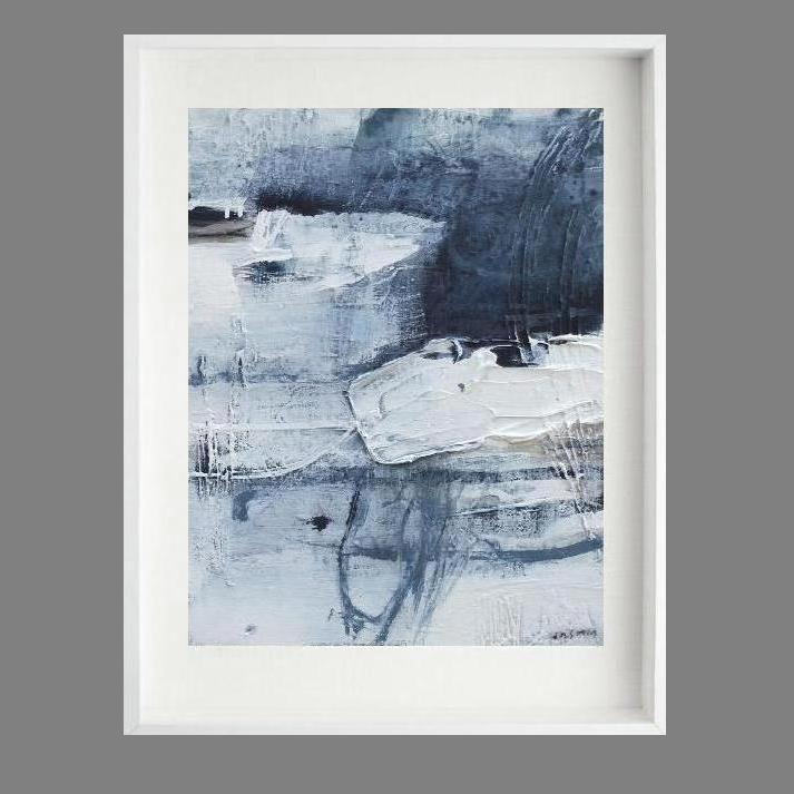 'Rock Pool 2. Print Series'.80 x 70cm--